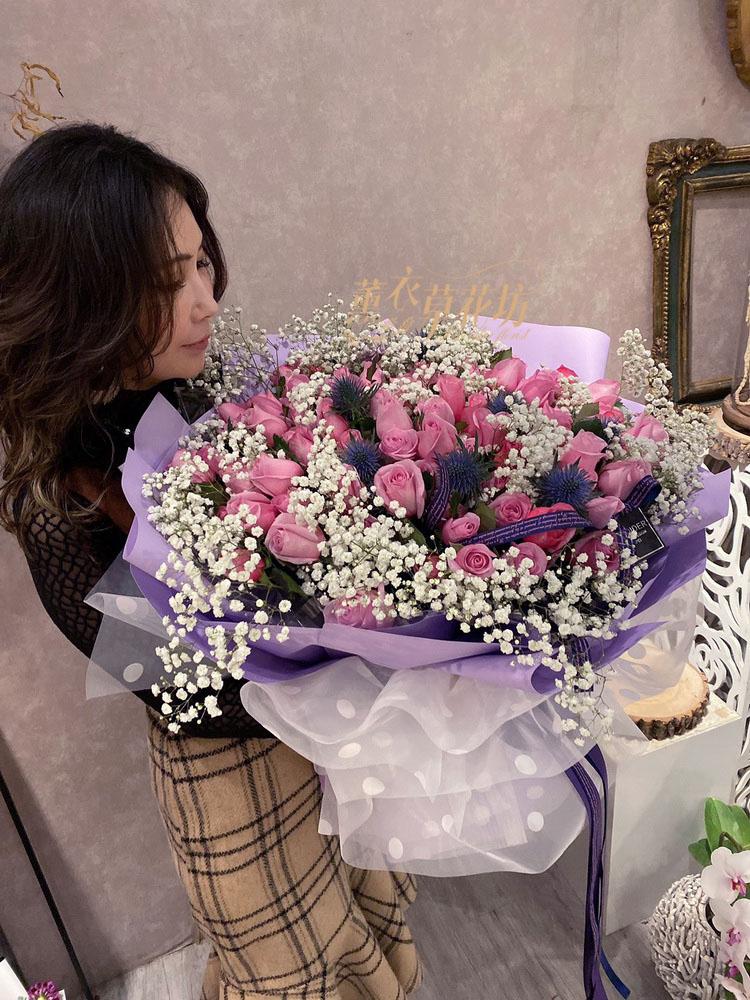 100朵玫瑰花束109020708