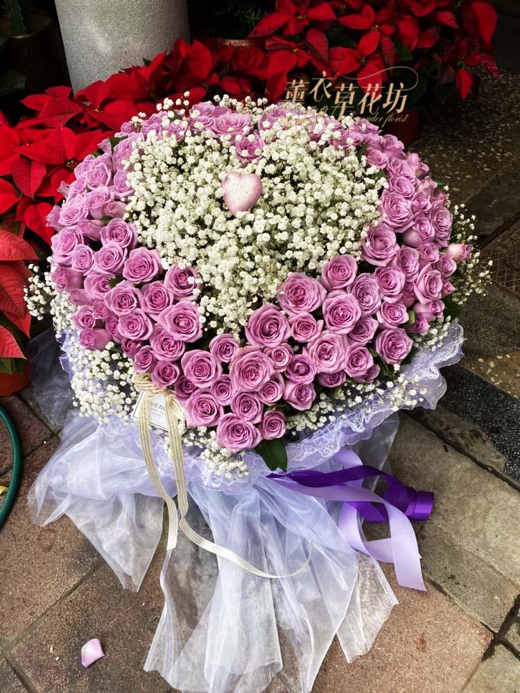 108朵玫瑰花束108112302