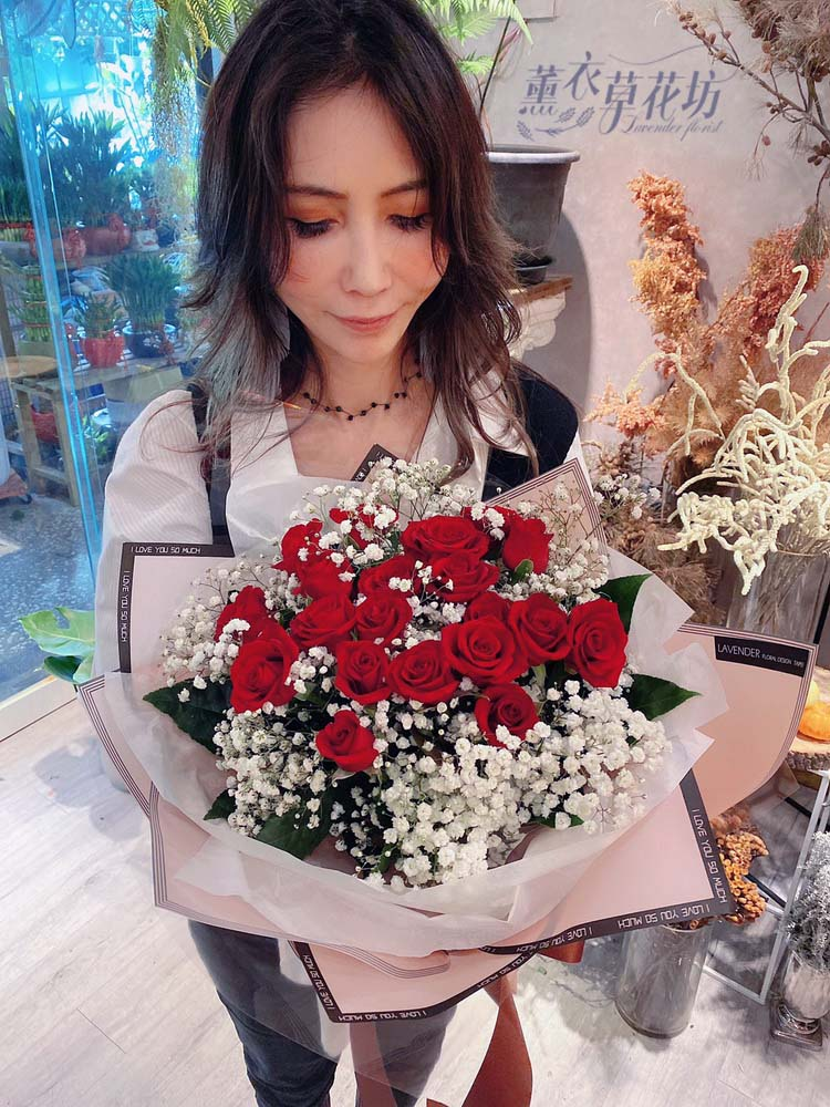 20朵 玫瑰花束108112307