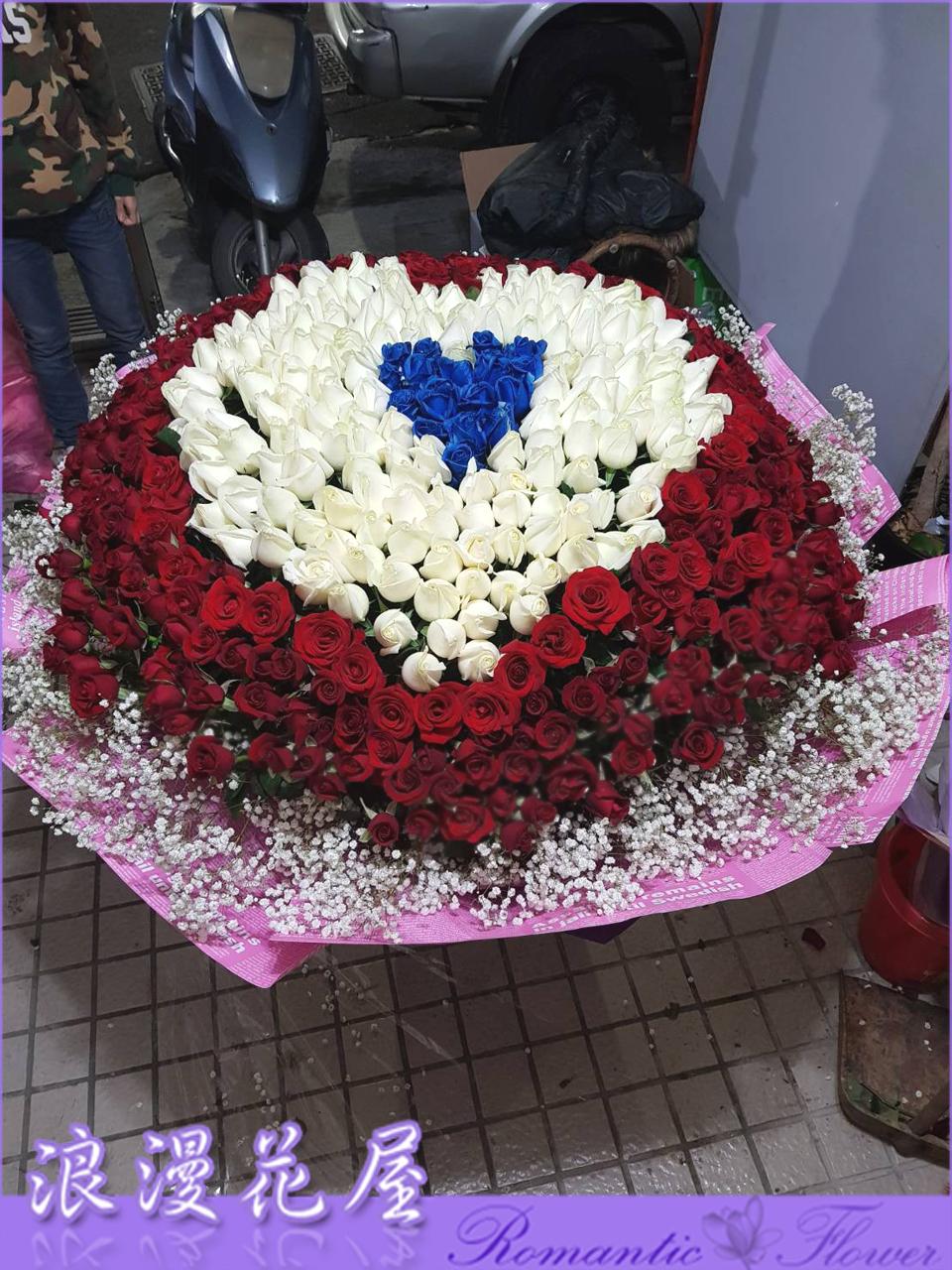 520朵玫瑰花束 2-65