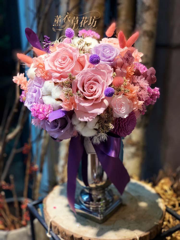 不凋花盆花設計108052802
