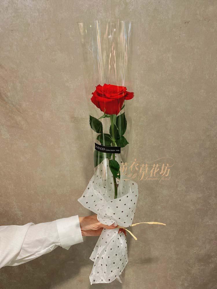 進口玫瑰花~單朵(此商品沒有單賣-需要搭配花束主商品才能購買唷)108112305