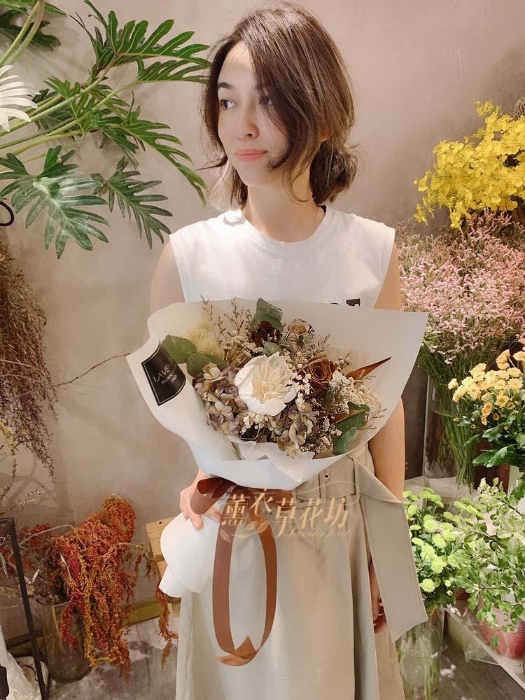 乾燥花花束108062010