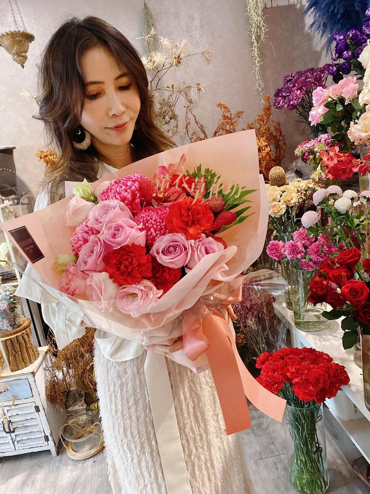 歐式花束設計109022305