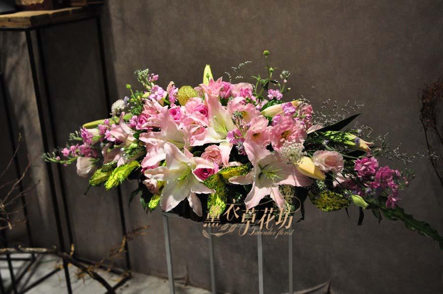 講台花/會議桌/盆花設計y3038