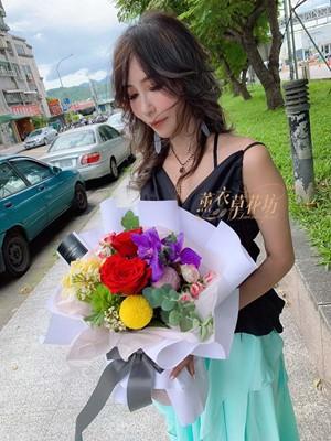 歐式花束設計108070506