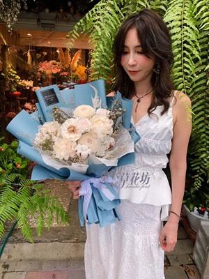 乾燥花花束108072420