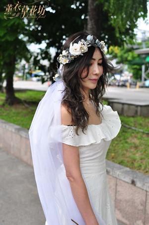 永生花/不凋花/恆星花/花環/頭花/設計108091919