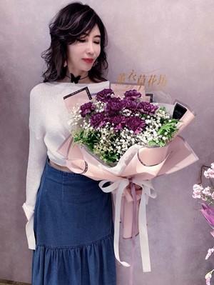 荷蘭進口大朵紫康乃馨108042903