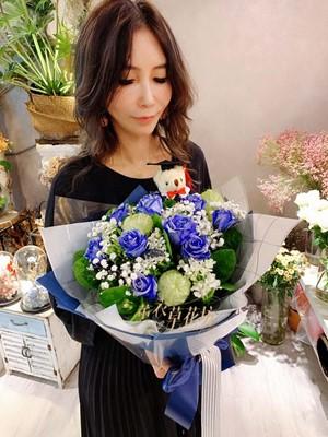 藍玫瑰設計aa588