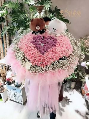 150朵~玫瑰花束108053003