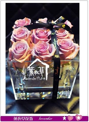 荷蘭玫瑰花盒設計 106081202-缺貨