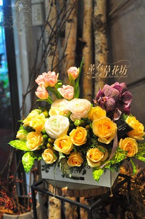 盆花設計 108041801