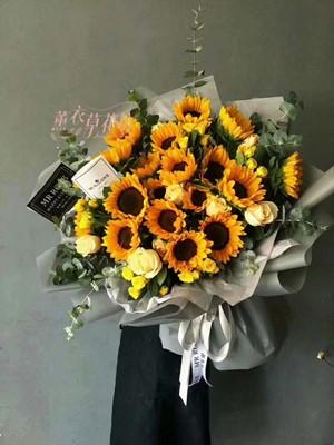 向日葵花束108060909
