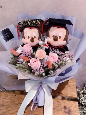 米奇&乾燥花花束108061522