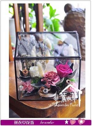 玻璃花房~薰衣草系列 106040507