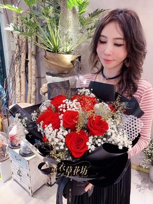 荷蘭進口紅玫瑰 108060405